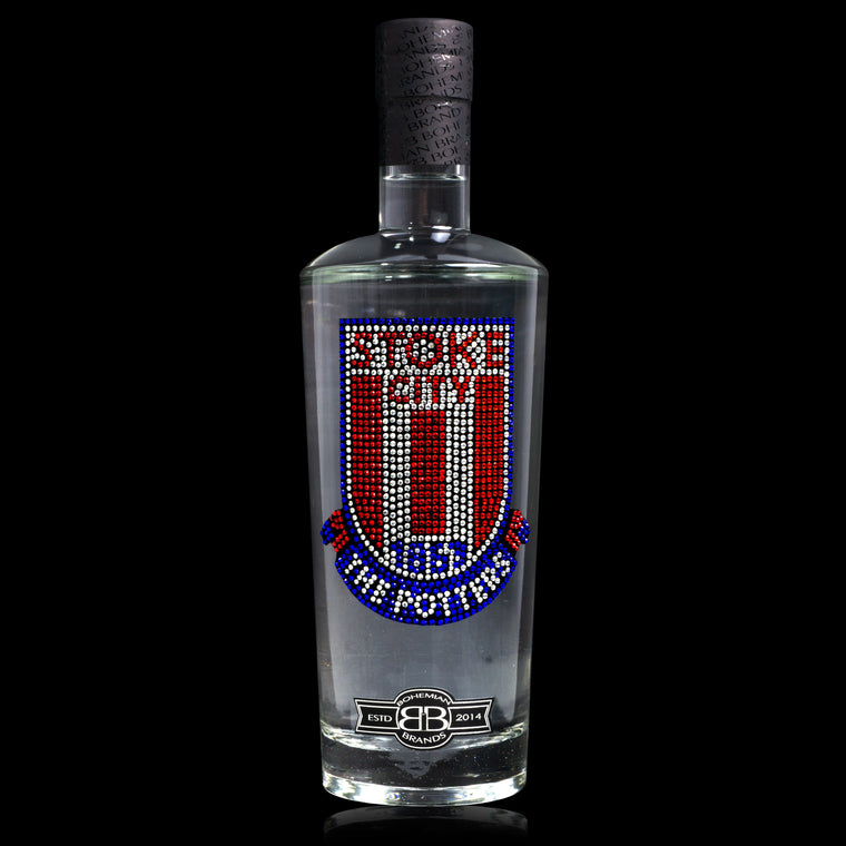 Stoke City FC Vodka - Crystal Edition - Bohemian Brands