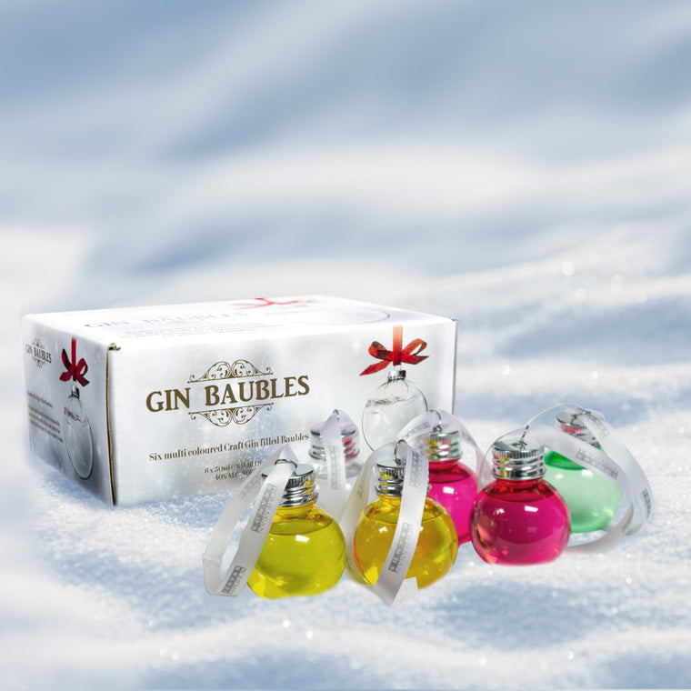 Christmas Gin Baubles - Bohemian Brands