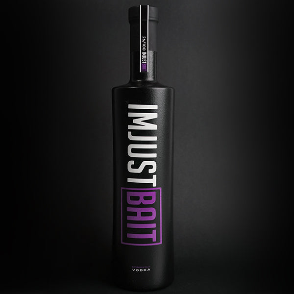 IM JUST BAIT VODKA PASSION FRUIT - Bohemian Brands