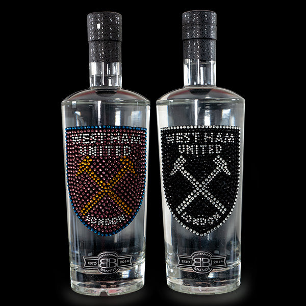 West Ham Utd FC Gin & Vodka Set - Crystal Edition - Bohemian Brands