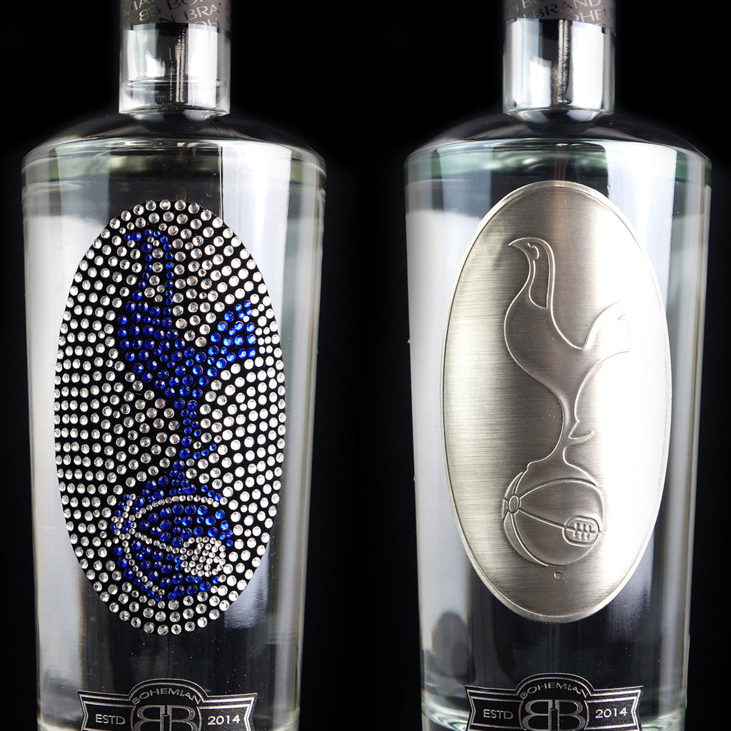 Tottenham Hotspur FC Vodka Set - Crystal & Pewter Set - Bohemian Brands