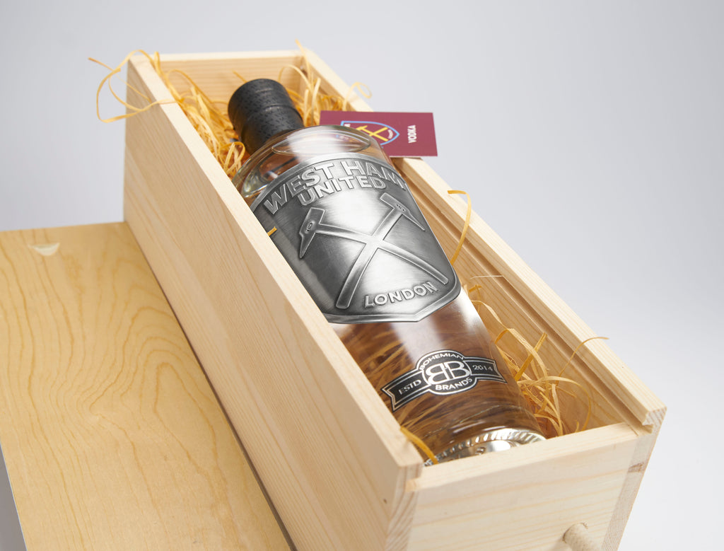 Single Bottle Gift Set - Pewter Edition - Bohemian Brands