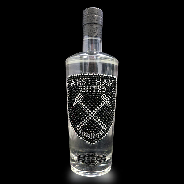 West Ham United FC Gin - Black Crystal Edition - Bohemian Brands
