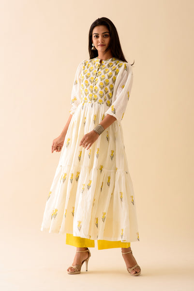 Lemon Lily Maxi Suit Set