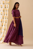 Navy Blue Lehenga Set