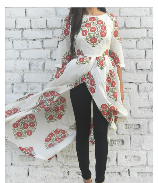 Flower Garland Cape