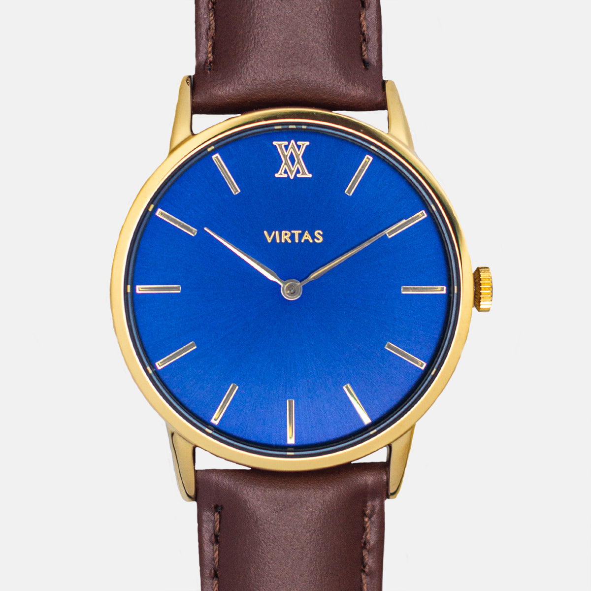 Gold + Blue | Leather