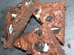 Rich Chocolate Brownies by Post