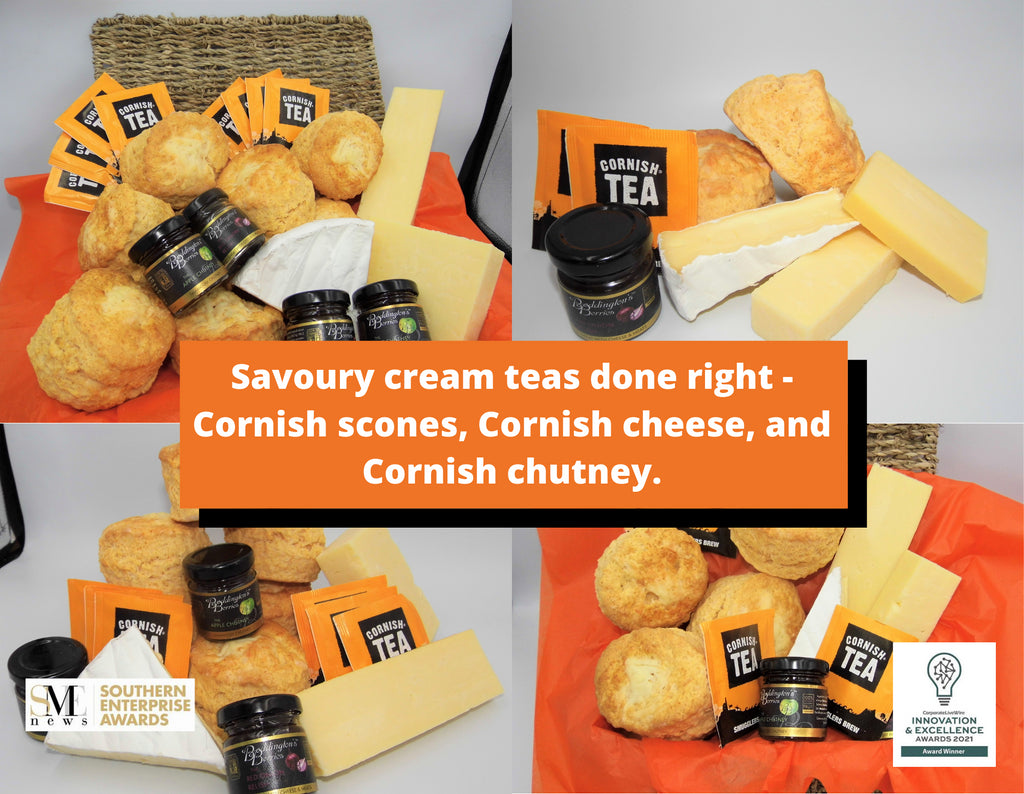 Our Gluten Free Cream and Savoury teas