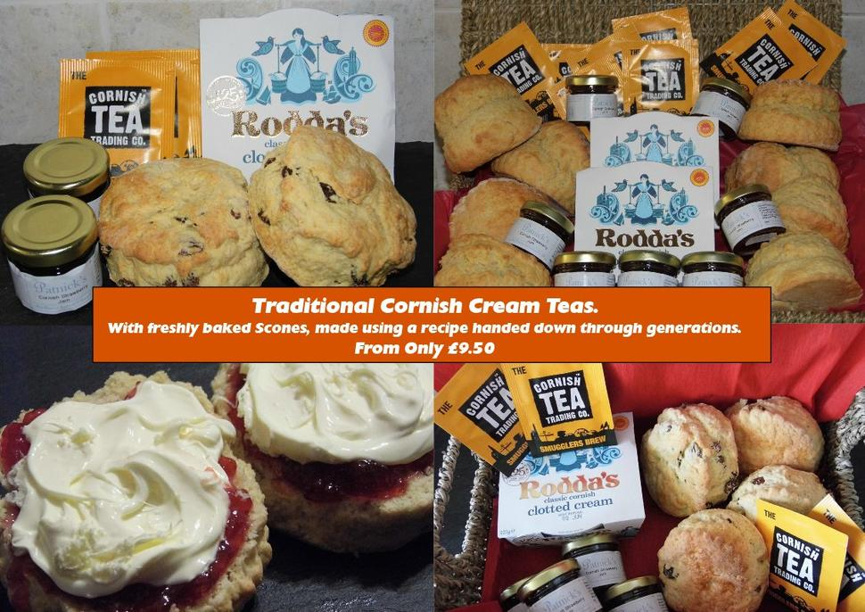 Cornish Cream Teas