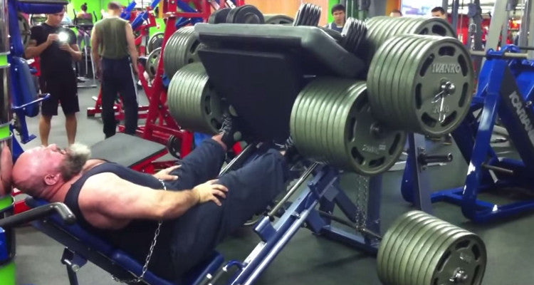The 8 Billion Pound Leg Press of Doom