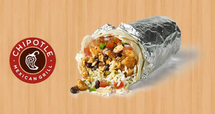 Get a FREE Chipotle Burrito on Jan 26th