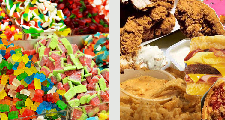 What Makes You Gain More Weight?: Sugary Foods or High-Fat Foods