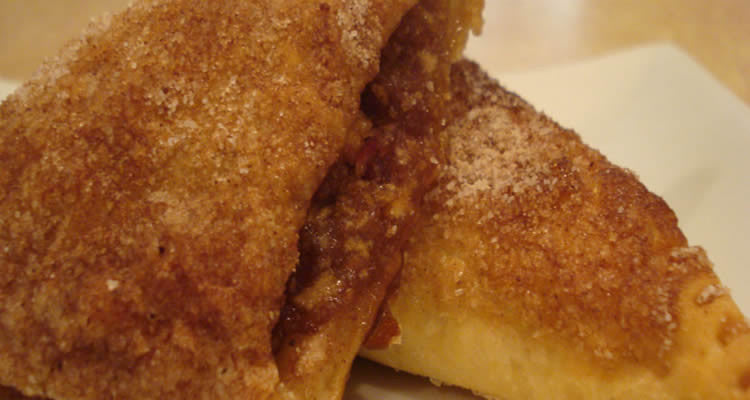 Getting Your Whey: Apple Cheesecake Turnover