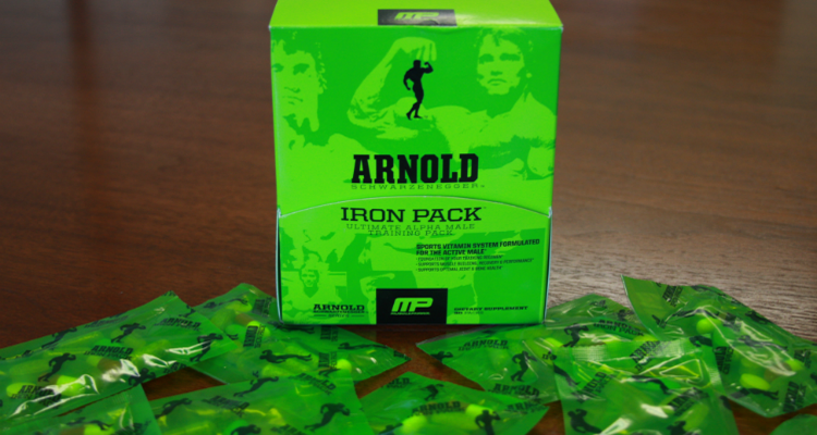 Arnold By Musclepharm Iron Pack Multivitamin