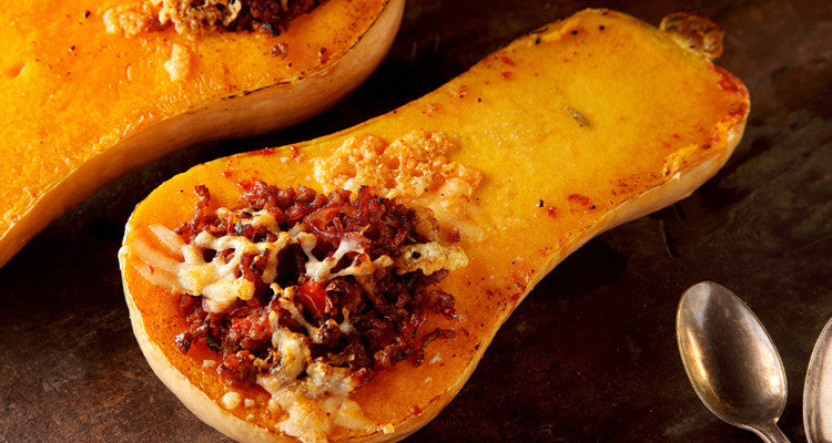 Get the Recipe: Twice-Baked Butternut Squash Stuffed with Quinoa