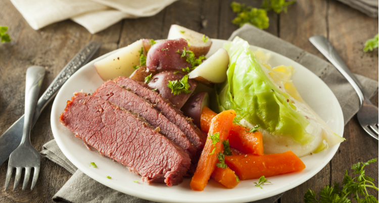 Quick, Healthy Corned Beef and Cabbage Recipe