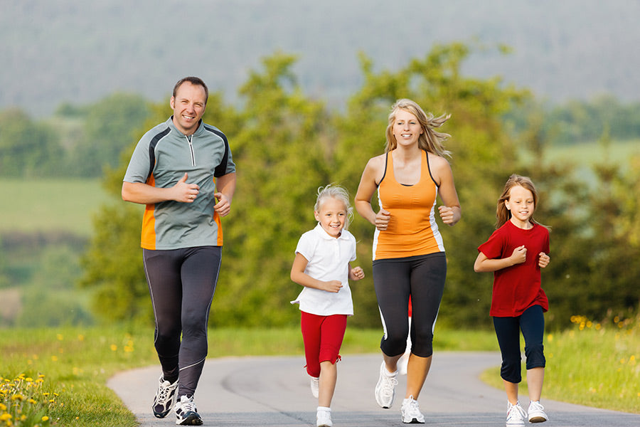 Making time for family fitness during term time