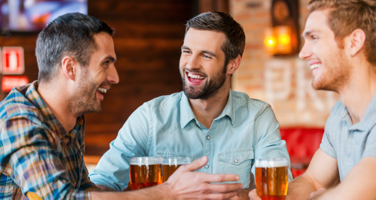The Health Benefits of a Guys Night Out