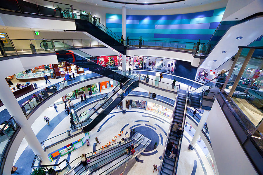 Why people are now gymming at malls