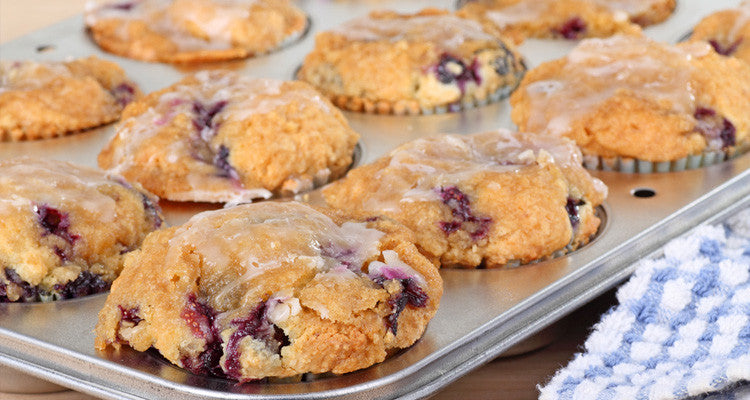 Start Your Day with Slimming Blueberry Muffins
