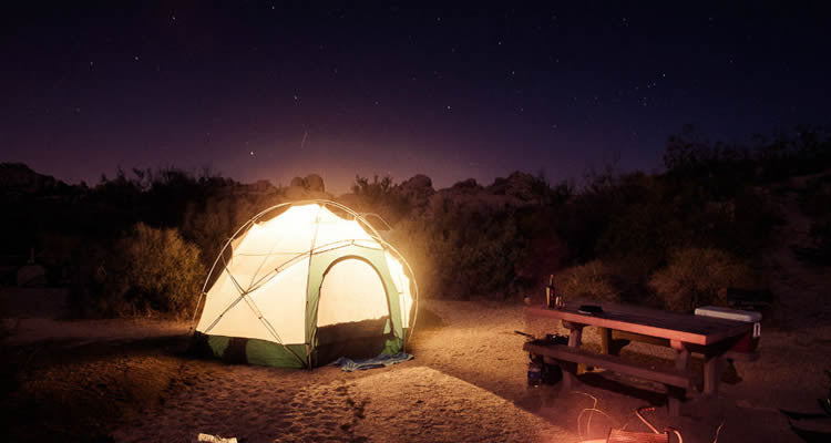 5 Best Places to go Camping Before You Die