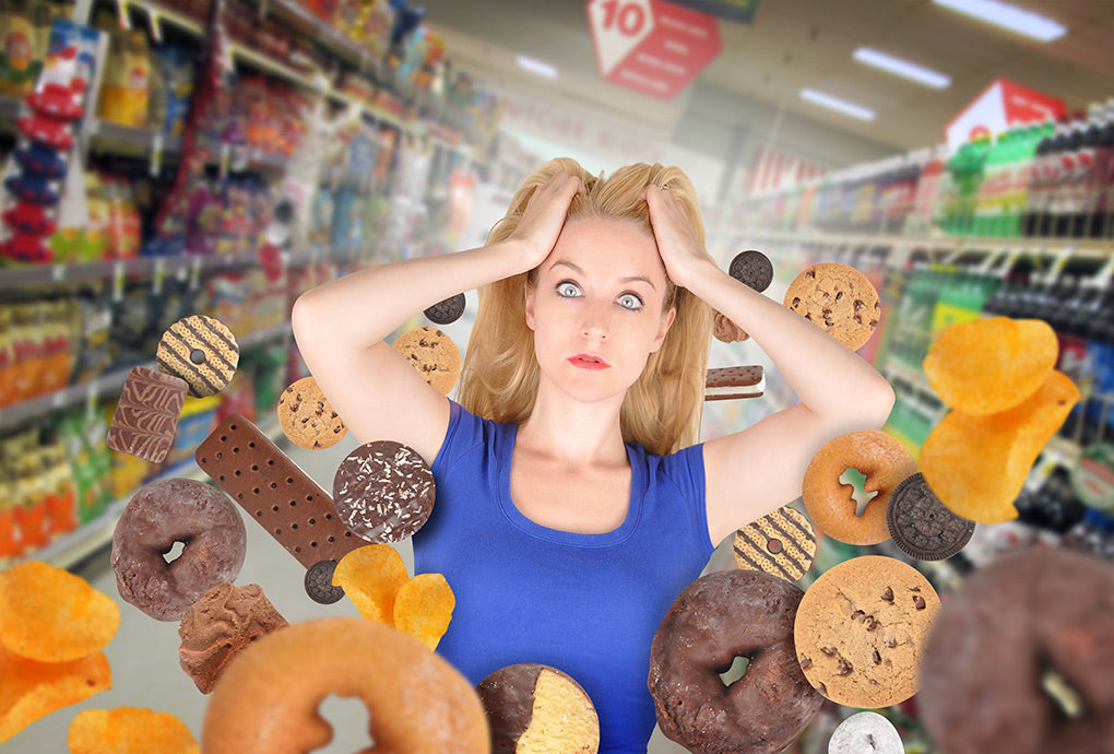 Is stress as harmful to your body as eating junk food?
