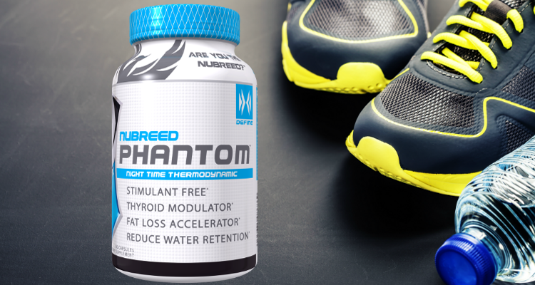 Nubreed Phantom Stimulant Free Fat Burner