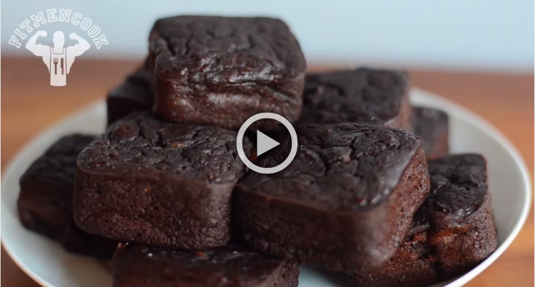 Post-Workout Sweet Potato Brownies To Die For