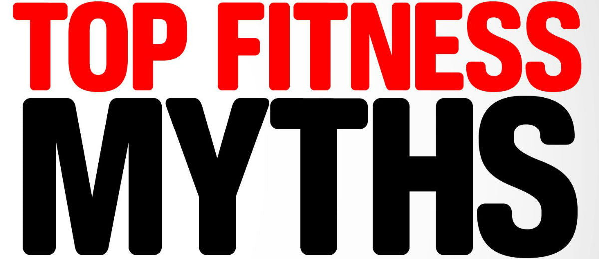Here's 5 EVEN MORE Fitness MYTHS!