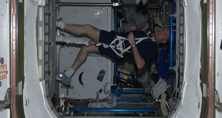 How Do Astronauts Workout... IN SPACE?!?