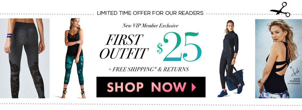 First Outfit for $25 with Free Shipping