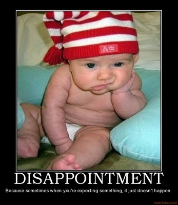 Disappointment-With-Results