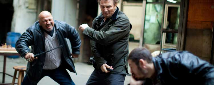 Liam Neeson Fighting