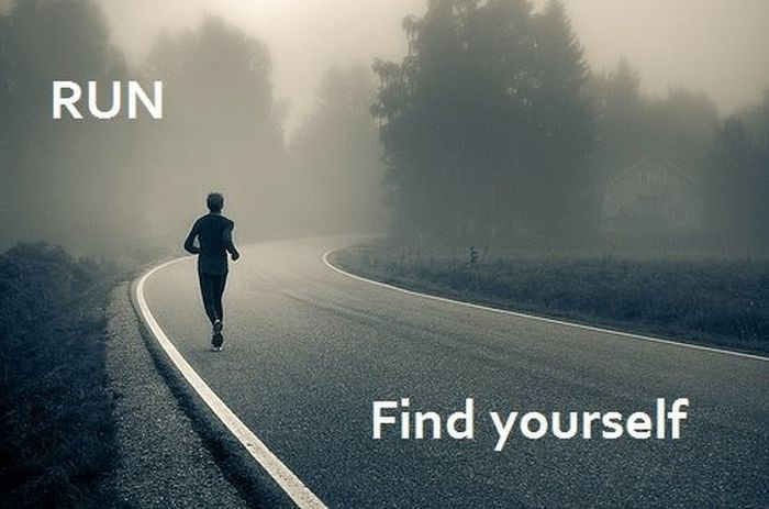 Running-to-find-Yourself