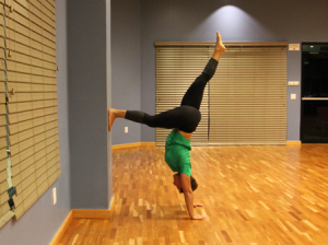 handstand progression step 3