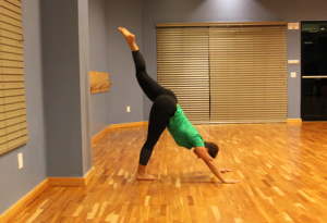 handstand progression step 5