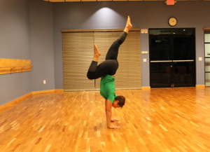 handstand progression step 7