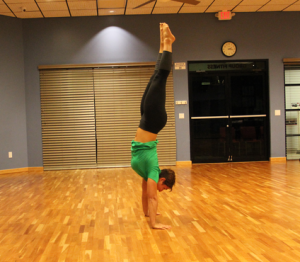 handstand progression final step