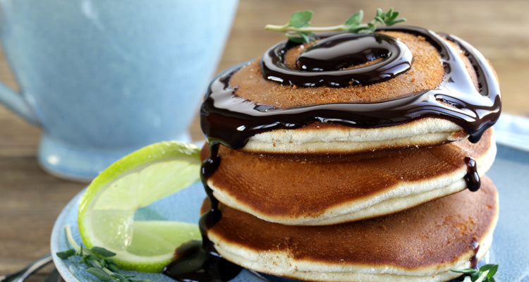 protein pancakes with thyme