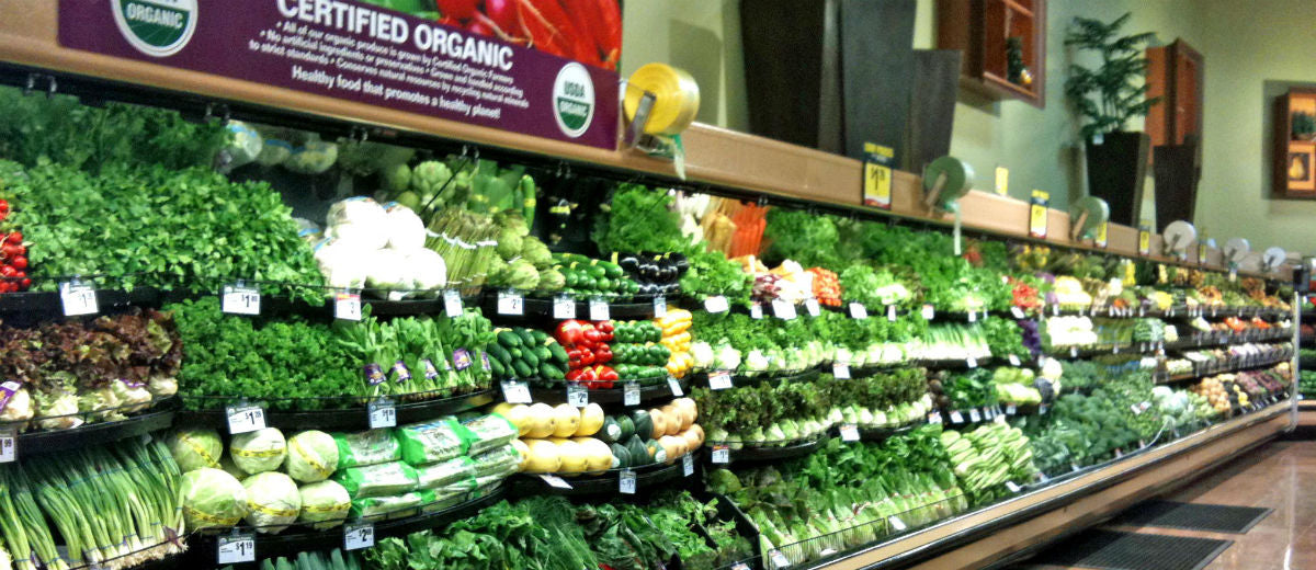 certified organic grocery store