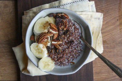 breakfast quinoa coconut porridge