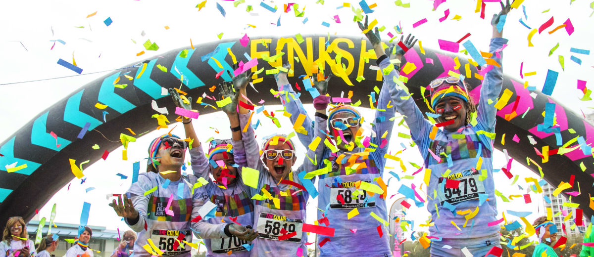color run finish