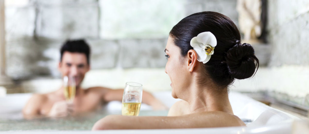 healthy couples bath