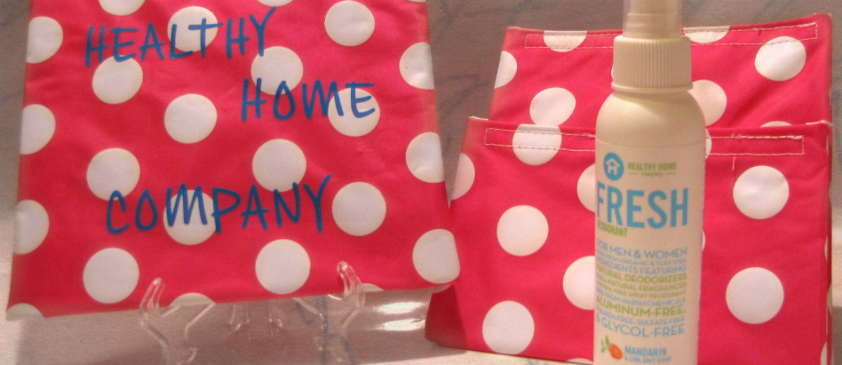 healthy home products polka dots