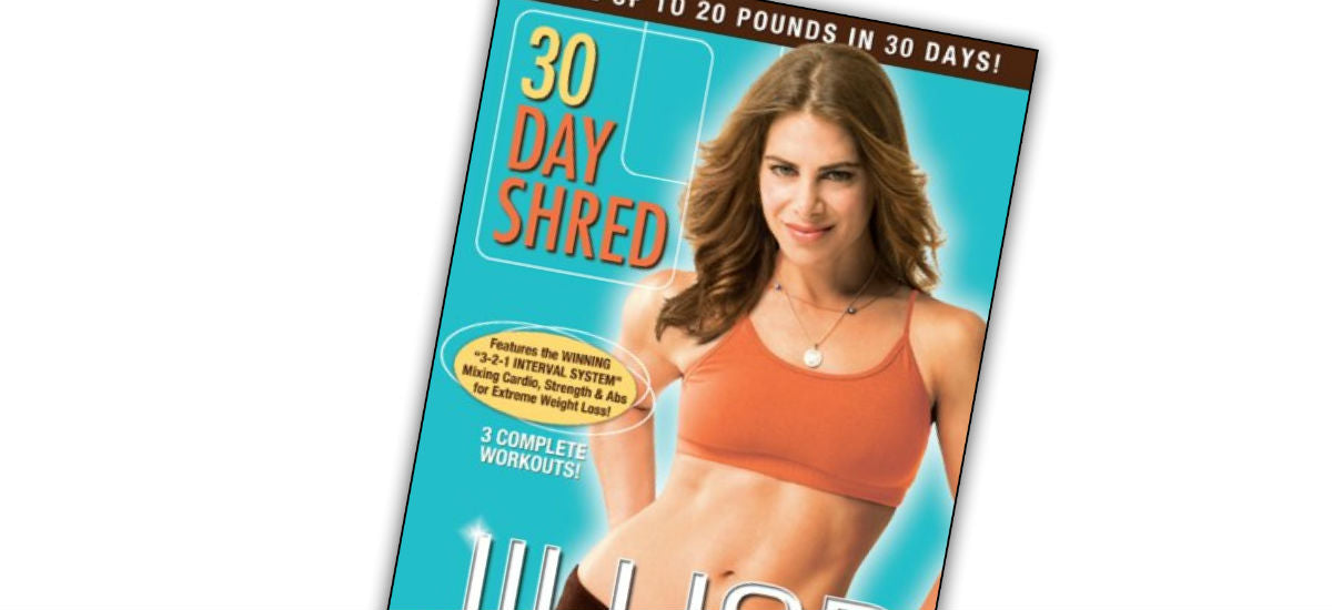 jillian michaels' 30 day shred
