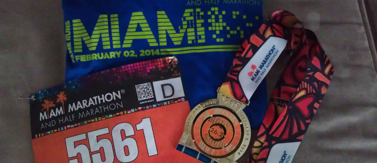 miami marathon three