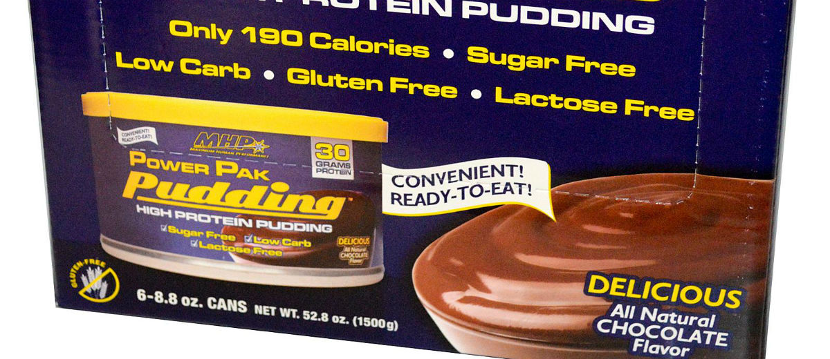 protein pudding chocolate two