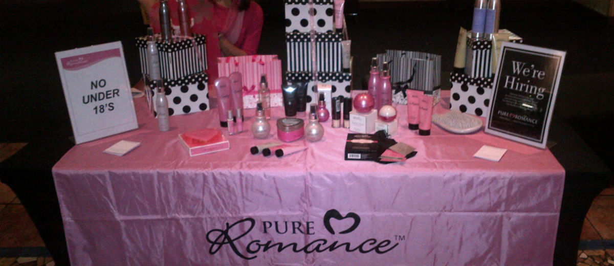 pure romance table