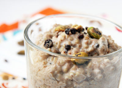 warm quinoa breakfast pudding